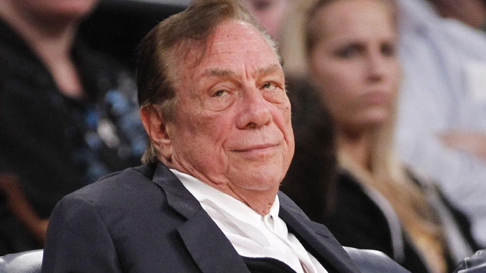 In this Dec. 19, 2011 file photo, Los Angeles Clippers owner Donald Sterling watches the Clippers play the Los Angeles Lakers during an NBA preseason game in Los Angeles. (AP Photo/Danny Moloshok, File)
