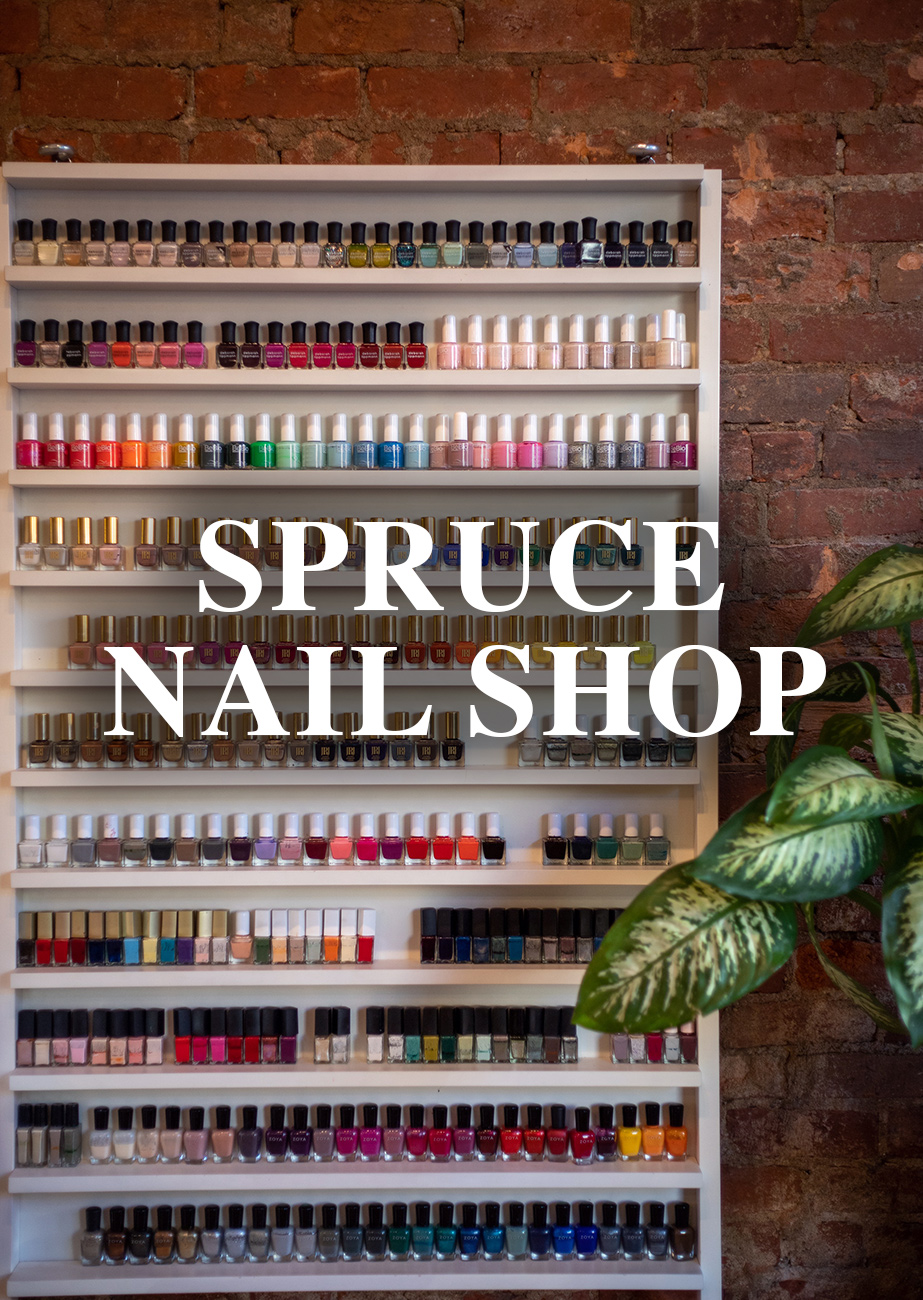 Spruce Nail Shop at{ }1235 Vine Street, Cincinnati, OH (45202) / Image: Steve Heglin // Published: 11.26.19