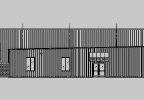 A preliminary rendering of the exterior of Badger State Brewing Brewing Co. planned expansion.