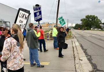 With GM strike in 18th day, union reports progress at Ford