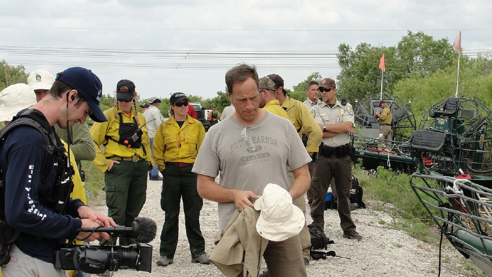 Mike Rowe TV show (wikicommons) A_Little_Downtime_(5036416520).jpg