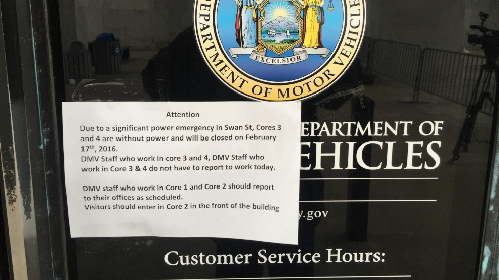 DMV systems restored after power outage | WRGB