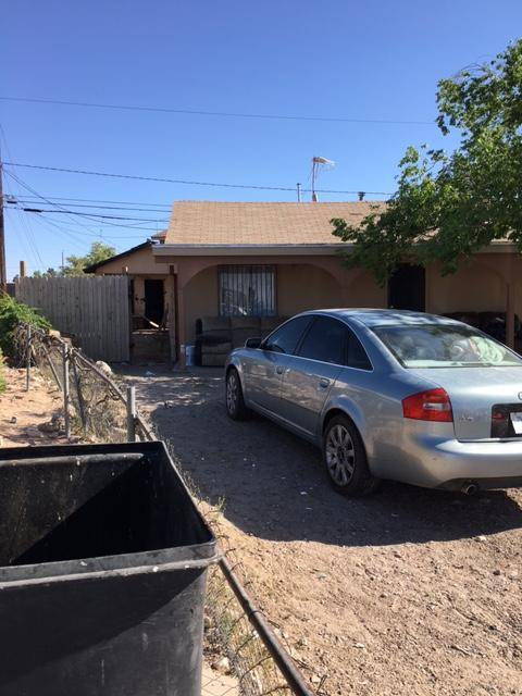 A fire was reported at a home in Westway Monday afternoon. (Credit: KFOX14/CBS4)