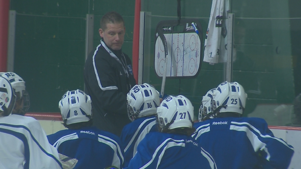 The Notre Dame boys hockey team is seeded No. 1 in the playoffs.