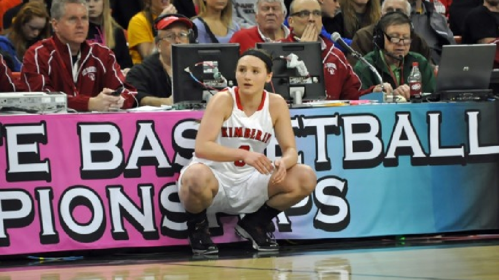 Kimberly's Frankie Wurtz has given Green Bay a verbal commitment. (Doug Ritchay/WLUK)