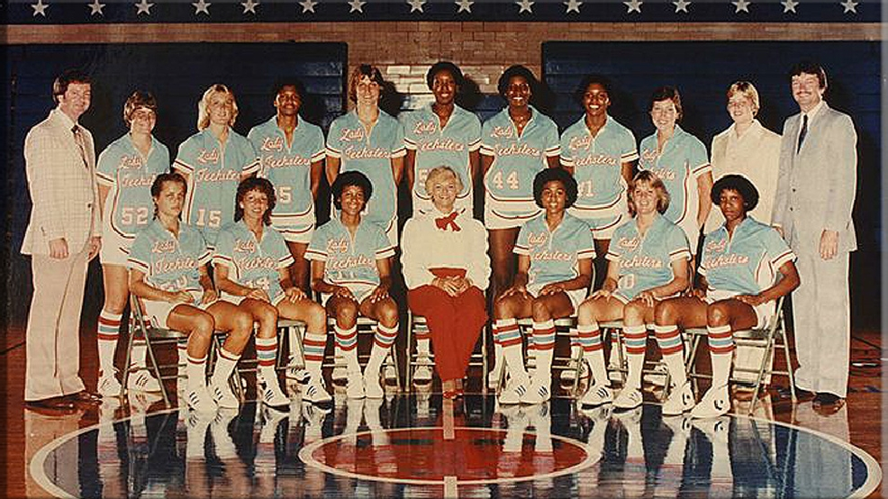 Louisiana Tech's 1982 NCAA champions. (Courtesy Louisiana Tech University Archives)