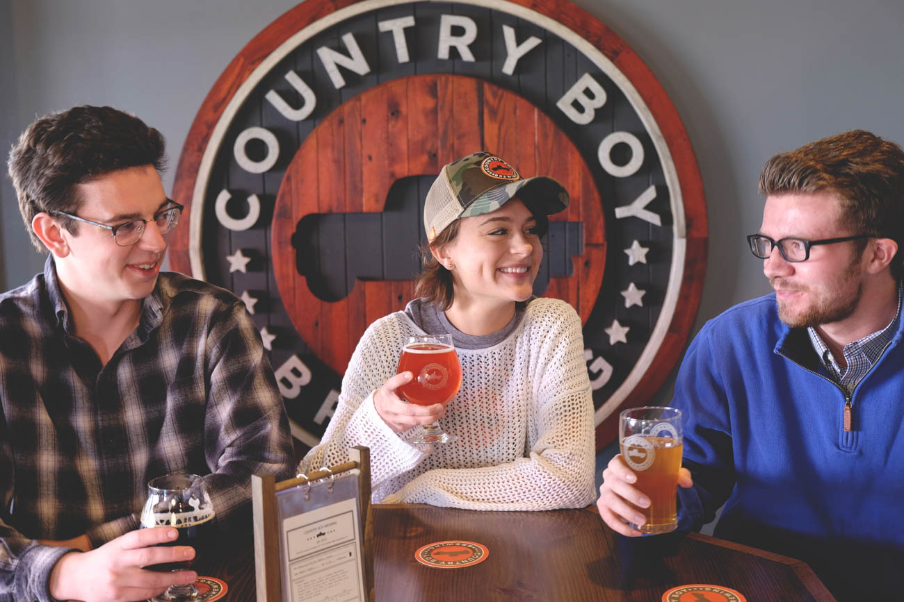 Country Boy Brewing is Georgetown's first brewery.{ }/ Image courtesy of Georgetown/Scott County Tourism // Published: 11.1.18