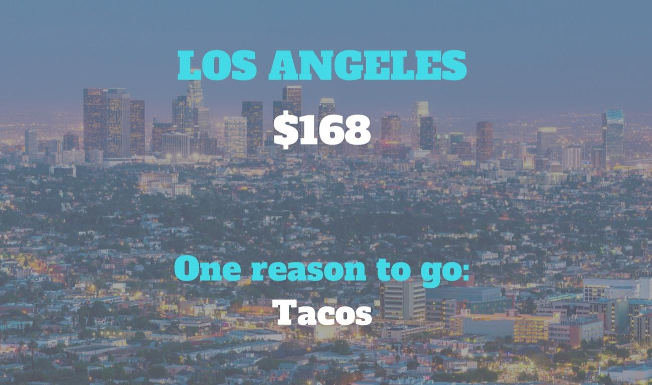 CITY: Los Angeles / DISTANCE: 1,897 miles from Cincinnati / REASON TO GO: The glitz and glamor of Hollywo--actually, tacos. Definitely, for sure, 100% the tacos. / Image courtesy of Los Angeles Tourism and Convention Board // Published: 8.30.18