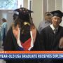 84-year-old becomes South Alabama's oldest graduate
