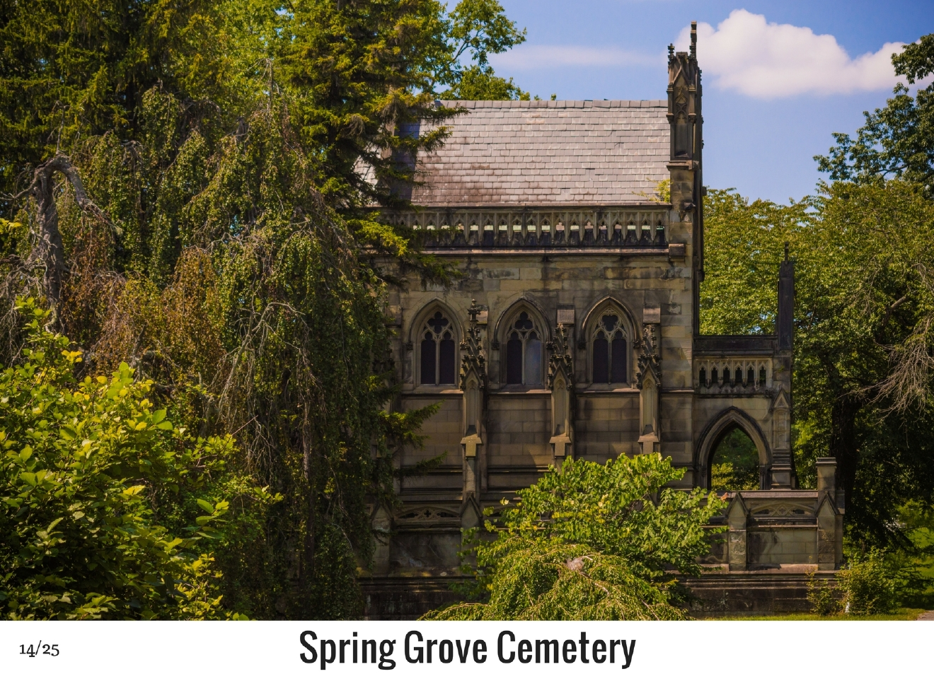 WHAT: Spring Grove Cemetery / WHERE: 4521 Spring Grove Avenue, Winton Place 45232 / Image: Phil Armstrong, Cincinnati Refined / Published: 10.27.16
