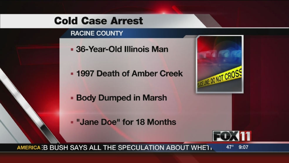 Wis. Deputies make arrest in Illinois teen's '97 death