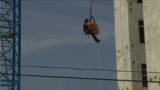 Columbus fire crews rescue worker stuck 130 feet in air