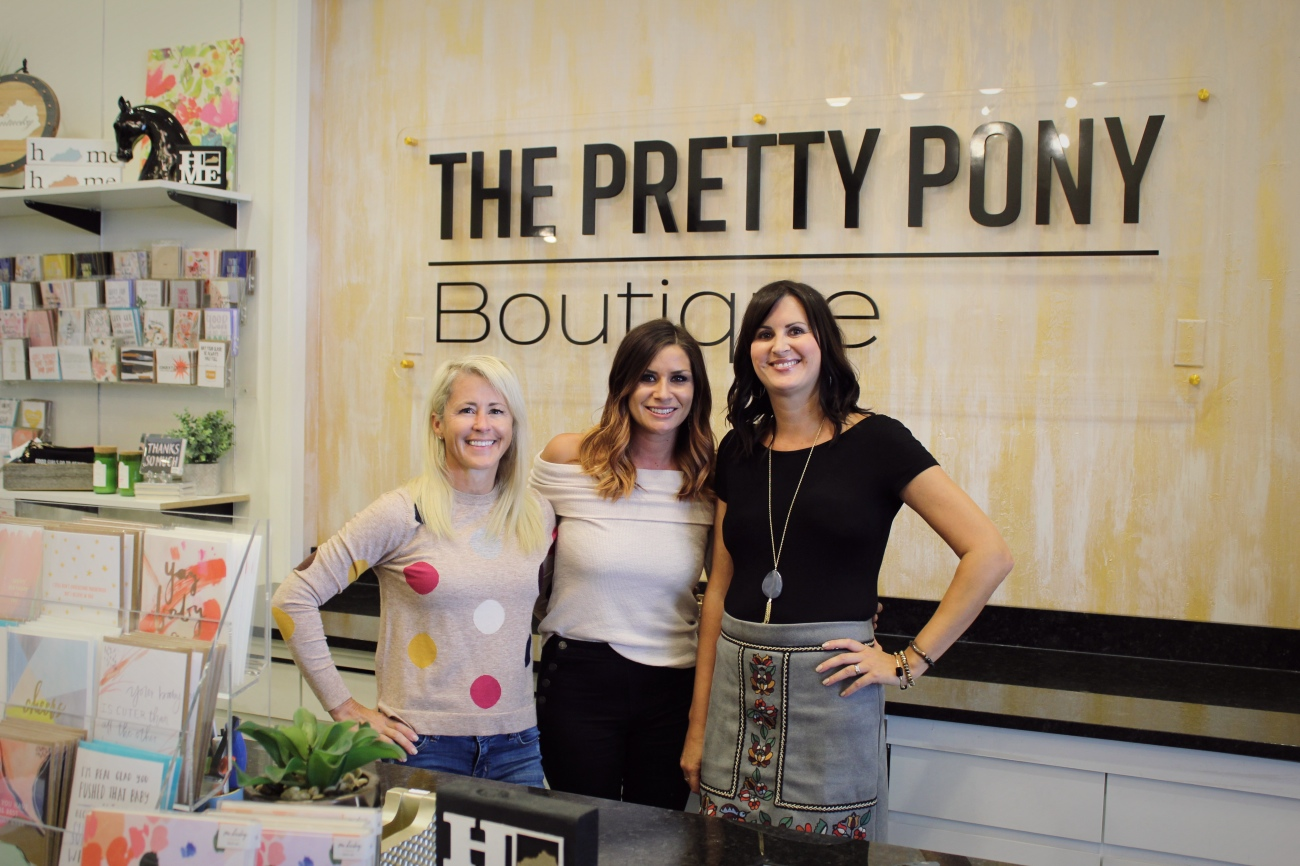 Amy Clay, assistant manager, Cassie Kathman, owner, and Holli Athers, assistant manager{&amp;nbsp;}/ Image: Katie Robinson, Cincinnati Refined  // Published: 9.26.18 {&amp;nbsp;}<p></p>