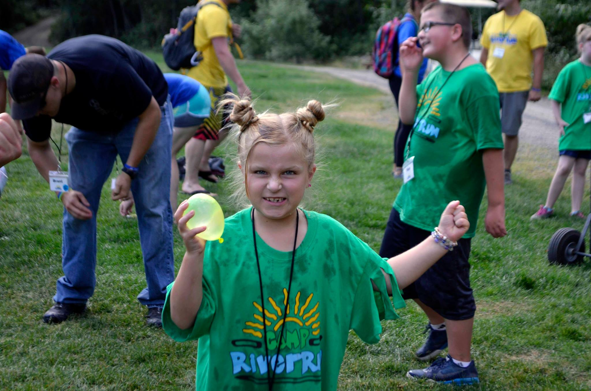 The camp is for kids ages 7-17 Courtesy: Camp River Run