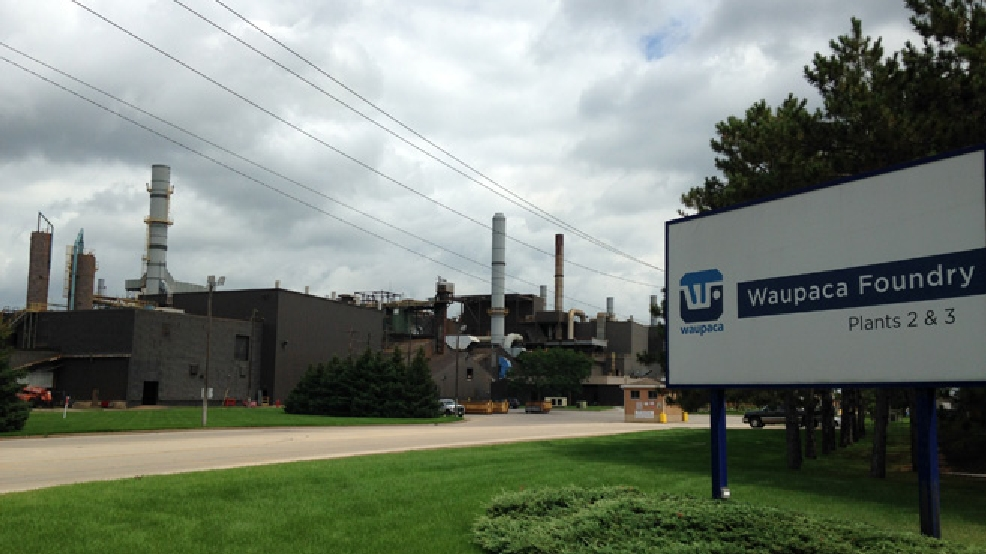 Waupaca Foundry's facility in Waupaca is seen, Aug. 19, 2014. (WLUK/Eric Peterson)