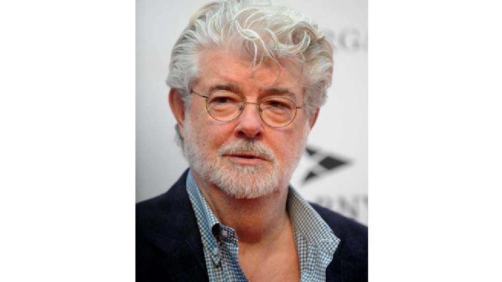George Lucas attends the Apollo Theater Spring Gala and 80th Anniversary Celebrationt at the Apollo Theater on Monday, June, 10, 2014 in New York City. (Photo by Brad Barket]/Invision for /AP Images)