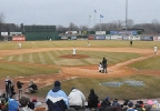 Wisconsin Timber Rattlers game action at Fox Cities Stadium, April 8, 2013.