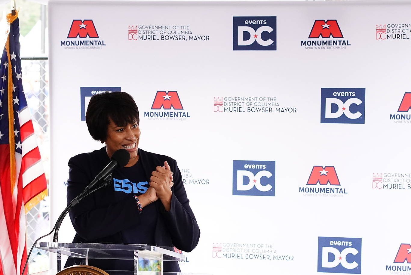 """The Entertainment and Sports Arena is the home our Mystics deserve,"" said Mayor Muriel Bowser. ""But it's even more than that - this project is bigger than basketball. The ESA is about jobs, opportunity and community; it's about ensuring that every neighborhood, in every corner of our city, has world-class housing and amenities. (Image: Courtesy Events DC)"