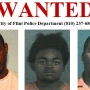 3 men wanted in connection to a deadly shooting in Flint