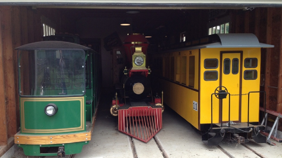 The family which owns the lip-balm company Carmex donated these trains to Bay Beach Amusement Park in Green Bay. (Photo courtesy: Paul Woelbing)