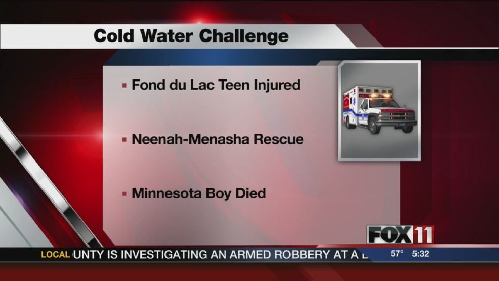 'Cold water challenge' cited in lake rescue