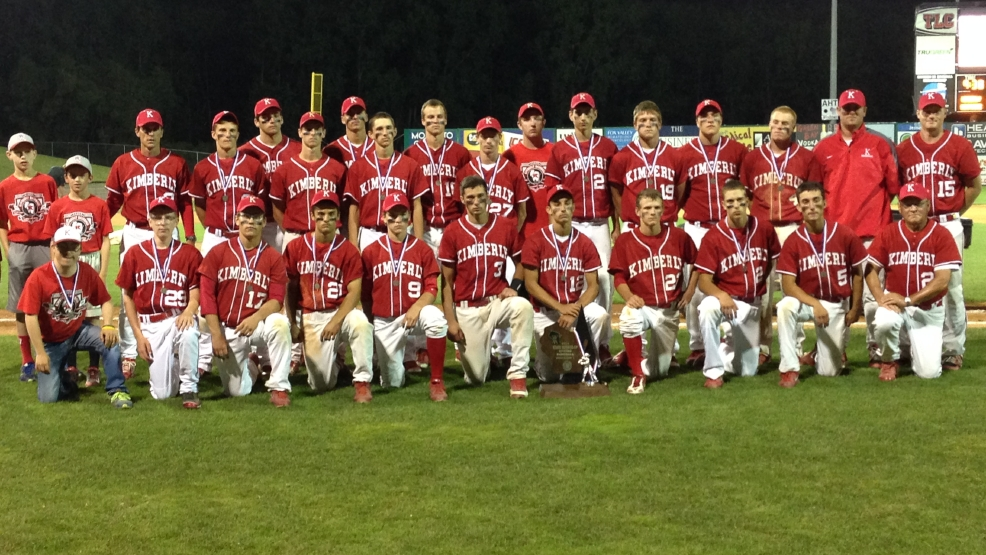 Kimberly fell to Sun Prairie in the Division 1 state baseball tournament championship game Thursday at Fox Cities Stadium. (Doug Ritchay/WLUK)