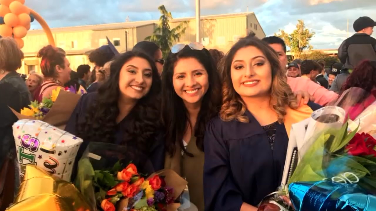 Dreamer and University of Washington graduate Faride Cuevas has lived in the United States since she was nine years old. She said Thursday's DACA deadline came as a big wake-up call. (KOMO News){&amp;nbsp;}<p></p>
