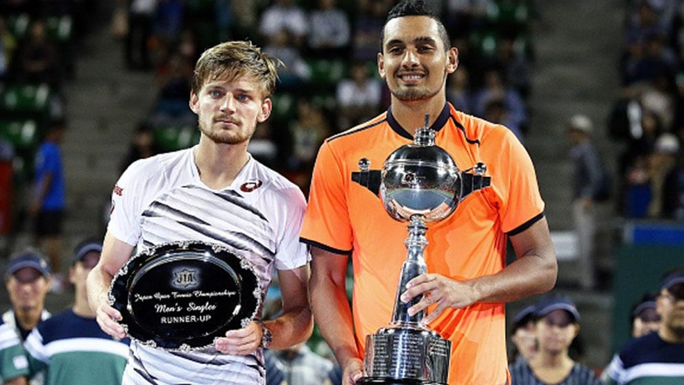 Kyrgios Takes Title in Tokyo