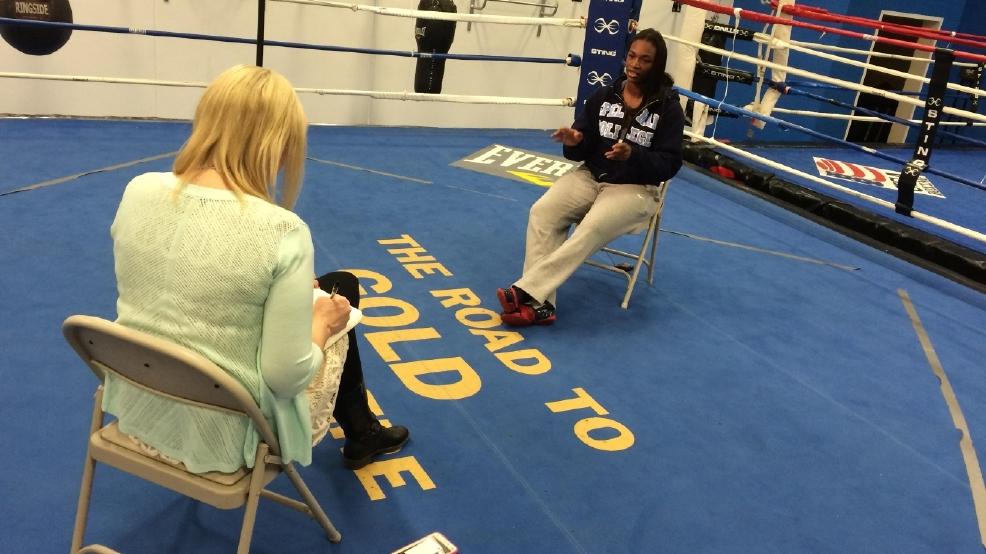 media claressa shields flint photos olympic boxer gold medal
