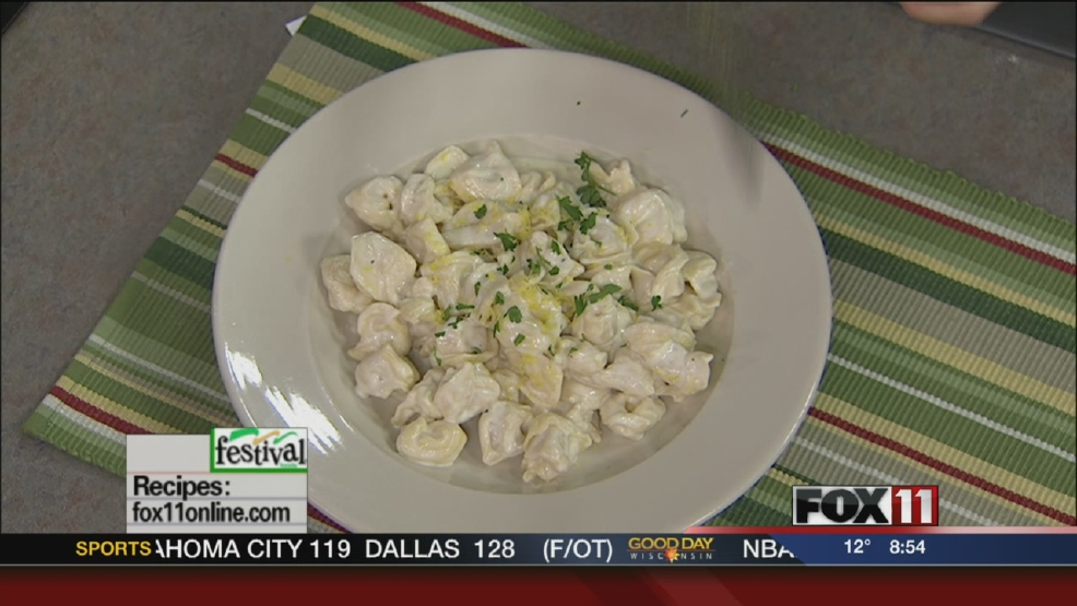 Lemon Cream Tortellini