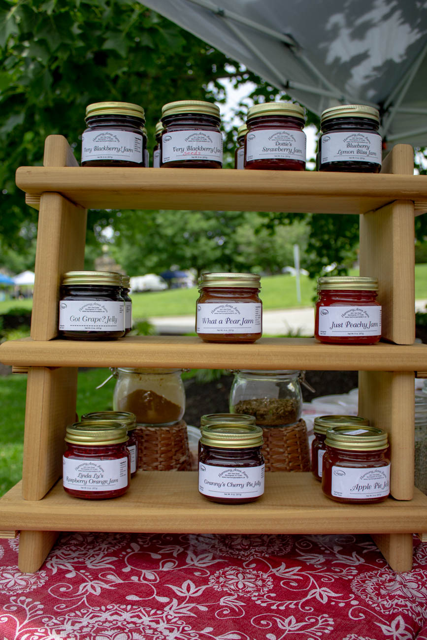 Jams from Springcreek Farm{ }/ Image: Katie Robinson, Cincinnati Refined // Published: 6.24.19