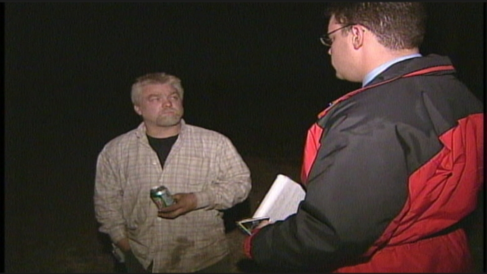 Steven Avery is interviewed by FOX 11 on his family's property in Manitowoc County, November 2005.