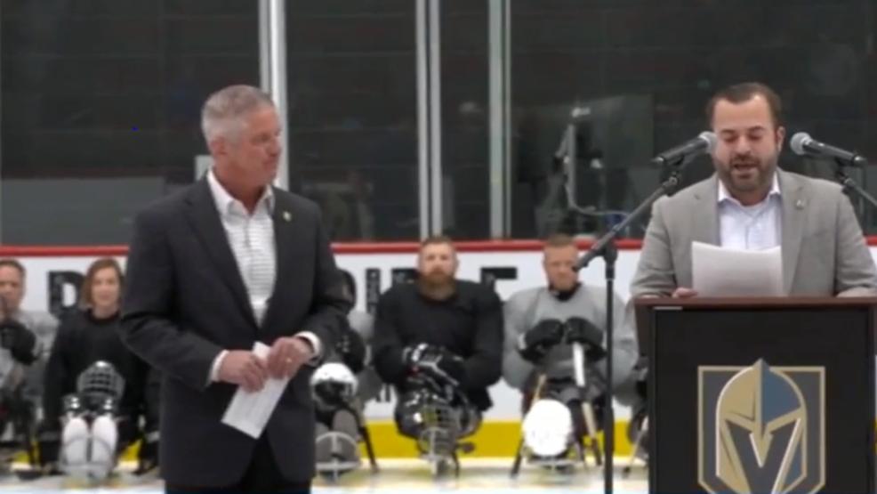 VGK Sled Hockey makes financial bond