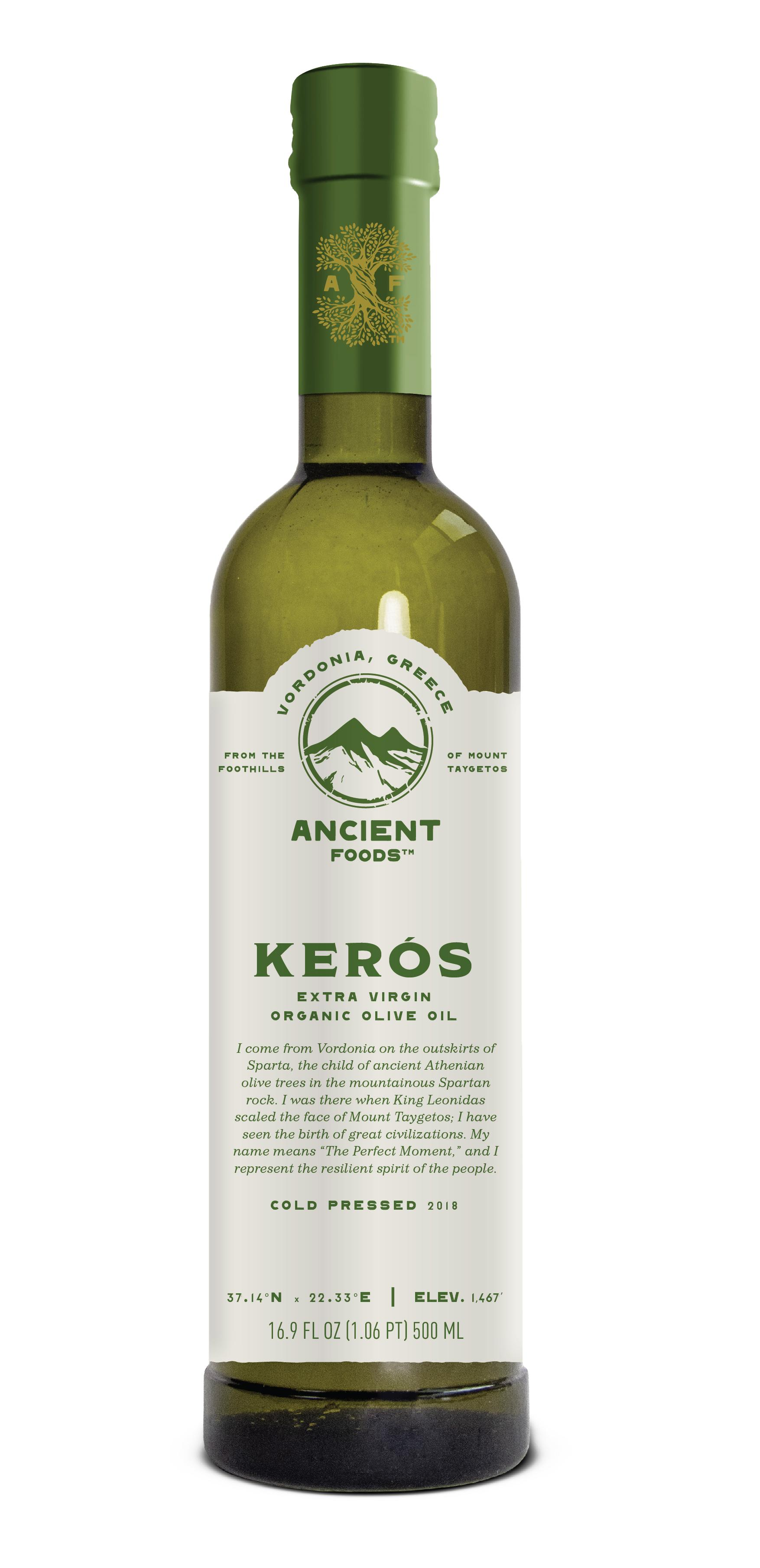 Keros Olive Oil from Ancient Foods // Price: $27 // Buy at Officina Market or online // https://ancientfoods.com // (Image: Ancient Foods)