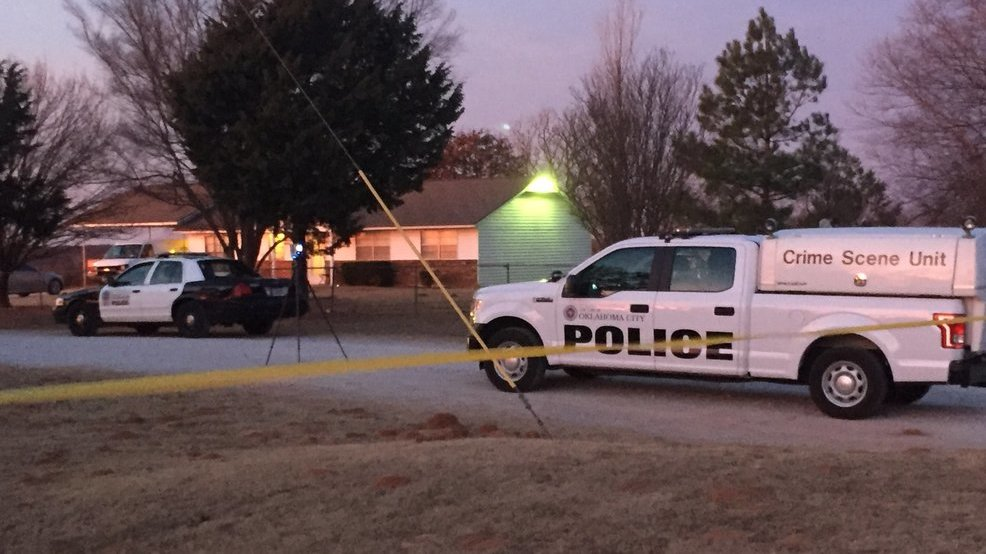 <p>Police investigate fatal officer-involved shooting near Peebly Rd. and SE 149th St. (Wayne Stafford/KOKH)</p>