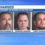 Charges upgraded to accessory to murder after the fact for 3 accused of harboring Stroupe