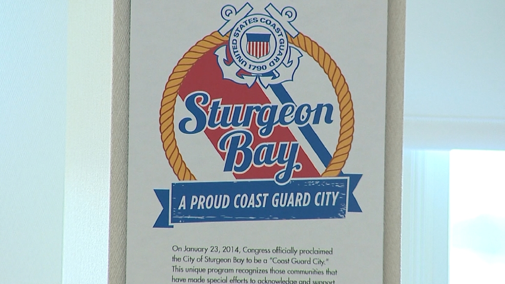 Sturgeon Bay was named one of two new Coast Guard Cities in 2014.
