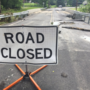 Flooding closes Lancaster County bridge