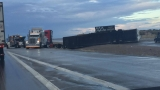 Update: Traffic flowing again after semi-truck crash on I-10