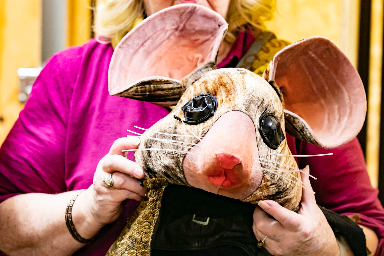 One of the mouse heads worn in The Nutcracker / Image: Amy Elisabeth Spasoff // Published:{ }12.11.18