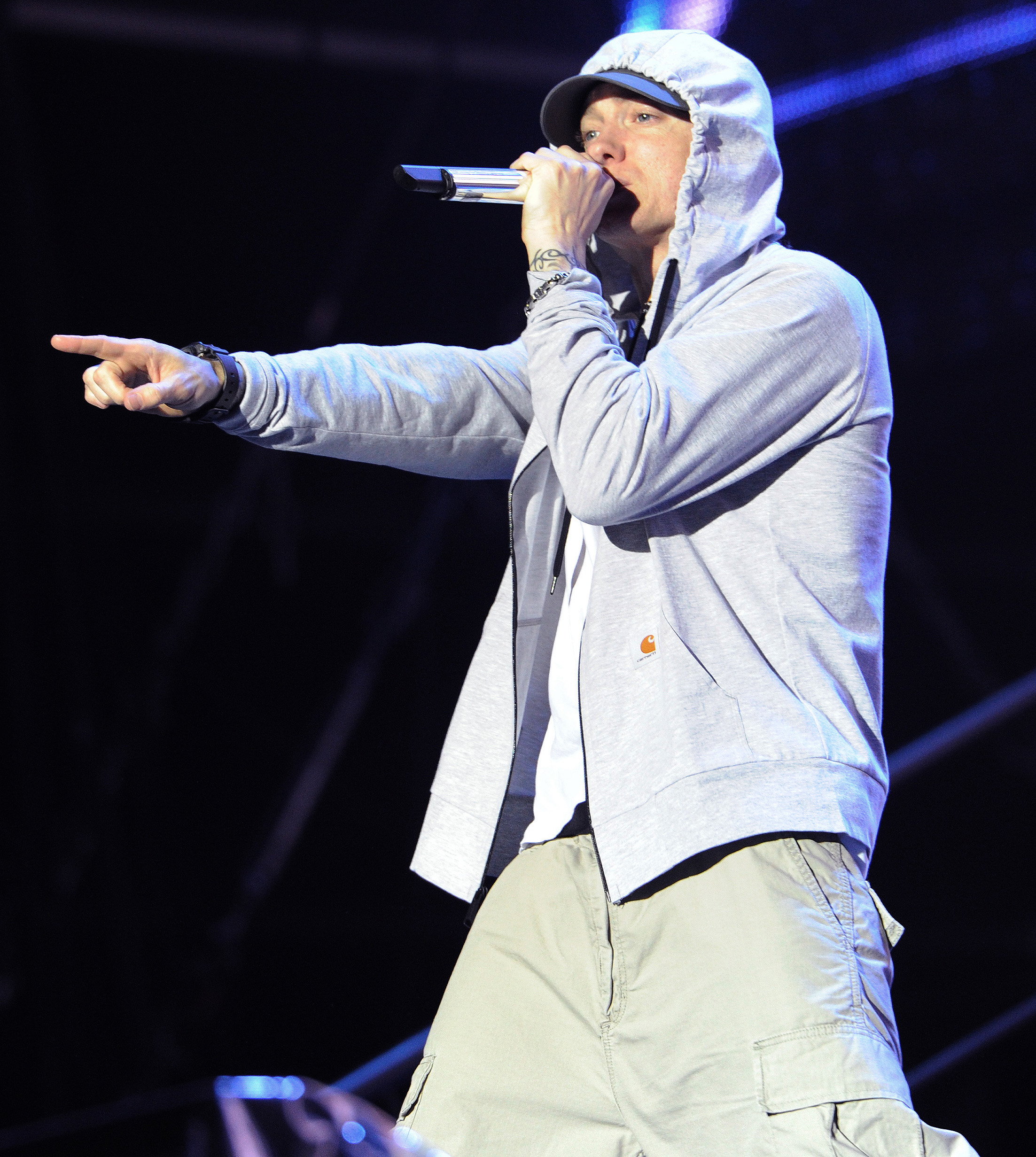 This marks the fifth festival headlining gig Eminem will have on his calendar this summer:{&amp;nbsp;} Firefly, Bonnaroo, The Governors Ball, Coachella and Boston Calling (Image: WENN.com)<p></p>