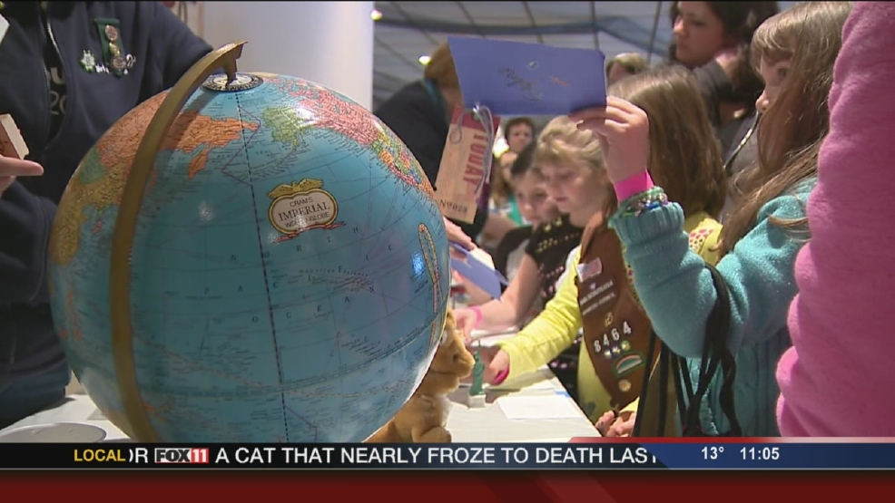 Girl Scouts attend World Thinking Day event