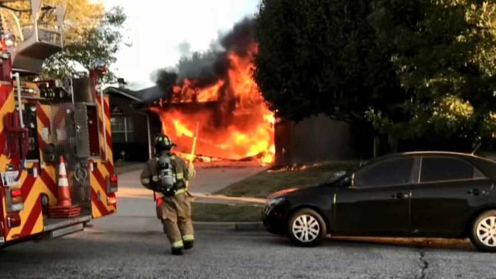 Image result for Norman man thanks firefighters, security company for saving his life during house fire