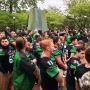 Marshall holds annual spring fountain ceremony ahead of spring football game