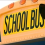 Slippery conditions lead to crash involving school bus