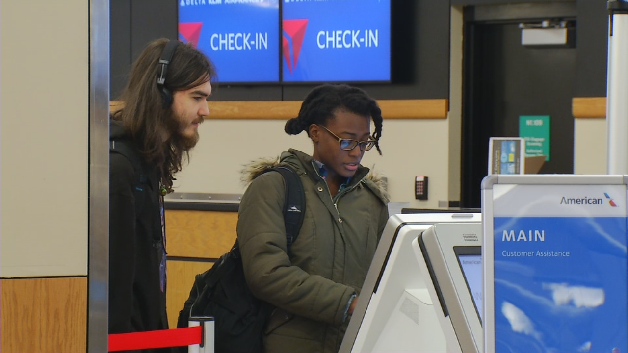 The Asheville Regional Airport just released a record number of passenger numbers from October 2017, the busiest month in the airport's history. (Photo credit: WLOS Staff)