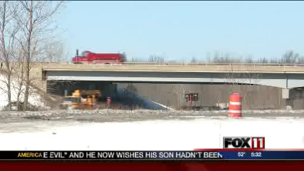 Parts of the Lineville Road bridge over Highway 41 will be demolished this week.