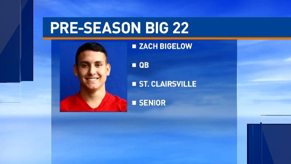 Big 22 Preview: Zach Bigelow, St. Clairsville