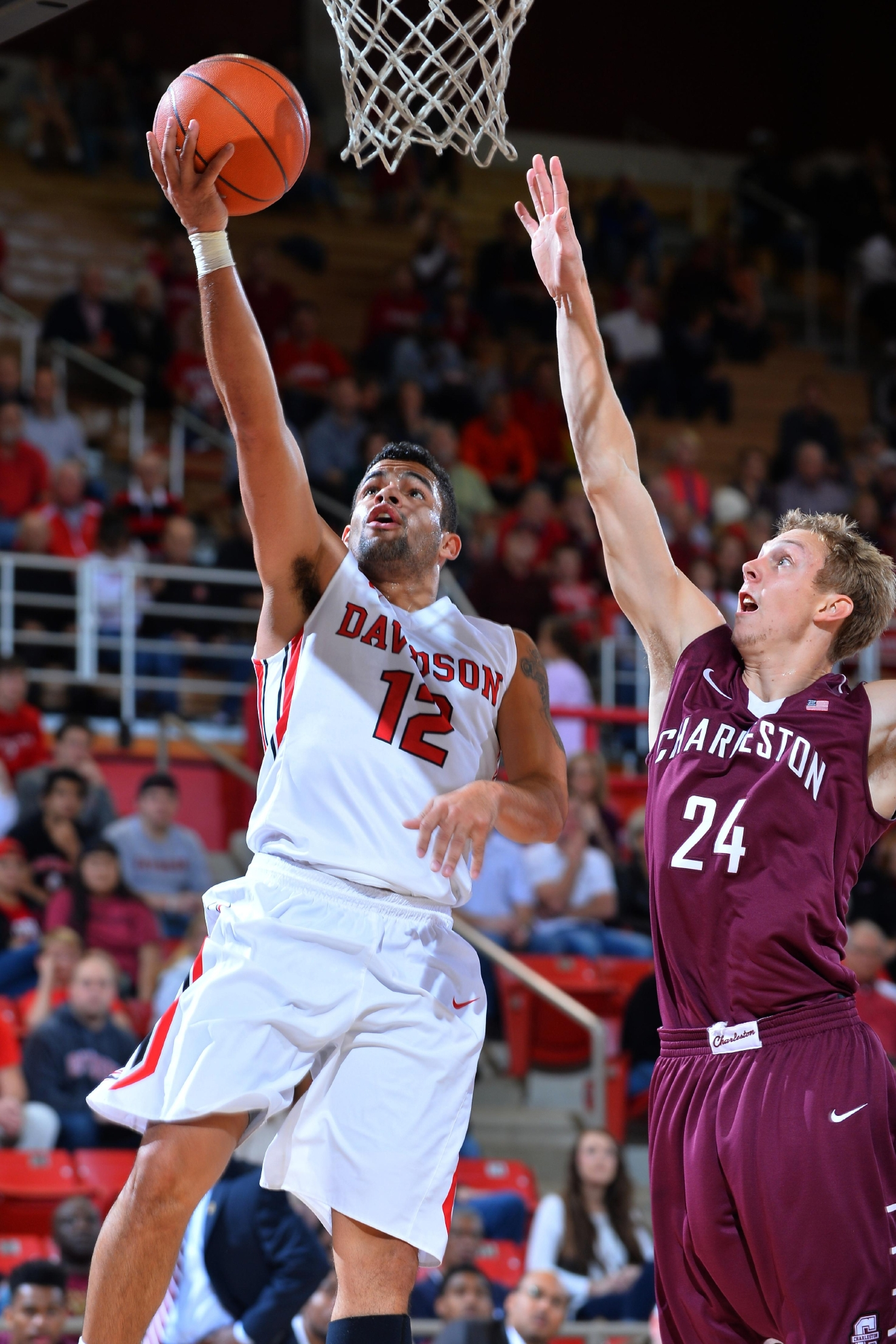 NCAA BASKETBALL:  NOV 21 College of Charleston at Davidson