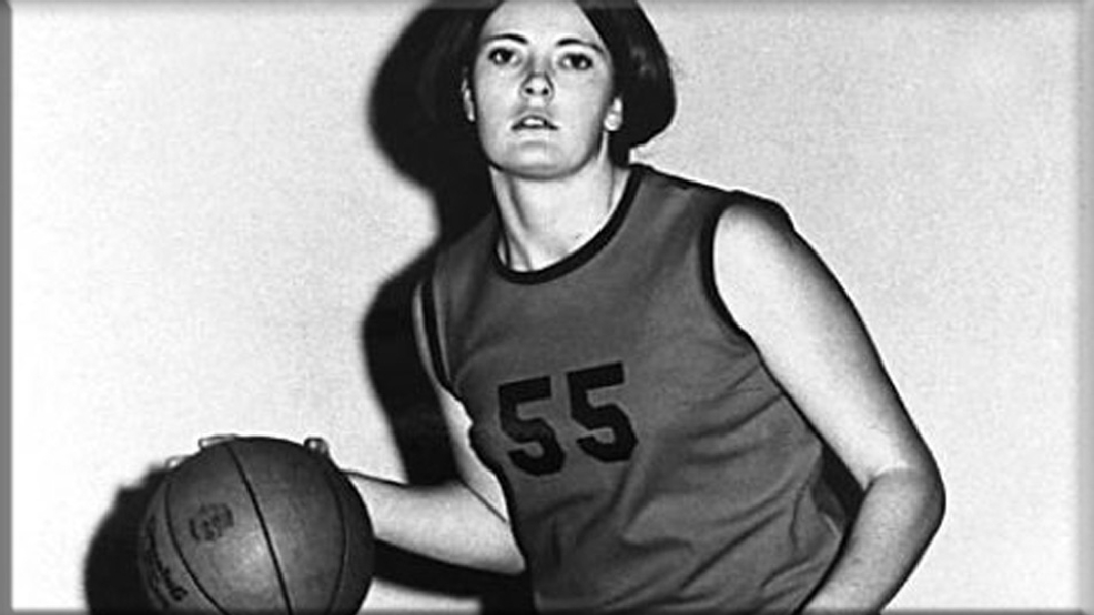 UT Martin's Pat Summitt in 1970. (Courtesy University of Tennessee at Martin Archives)